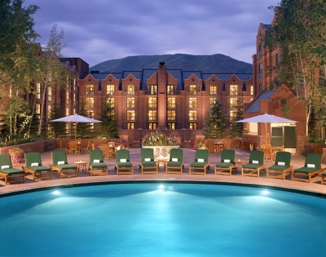 St. Regis Aspen outdoor pool